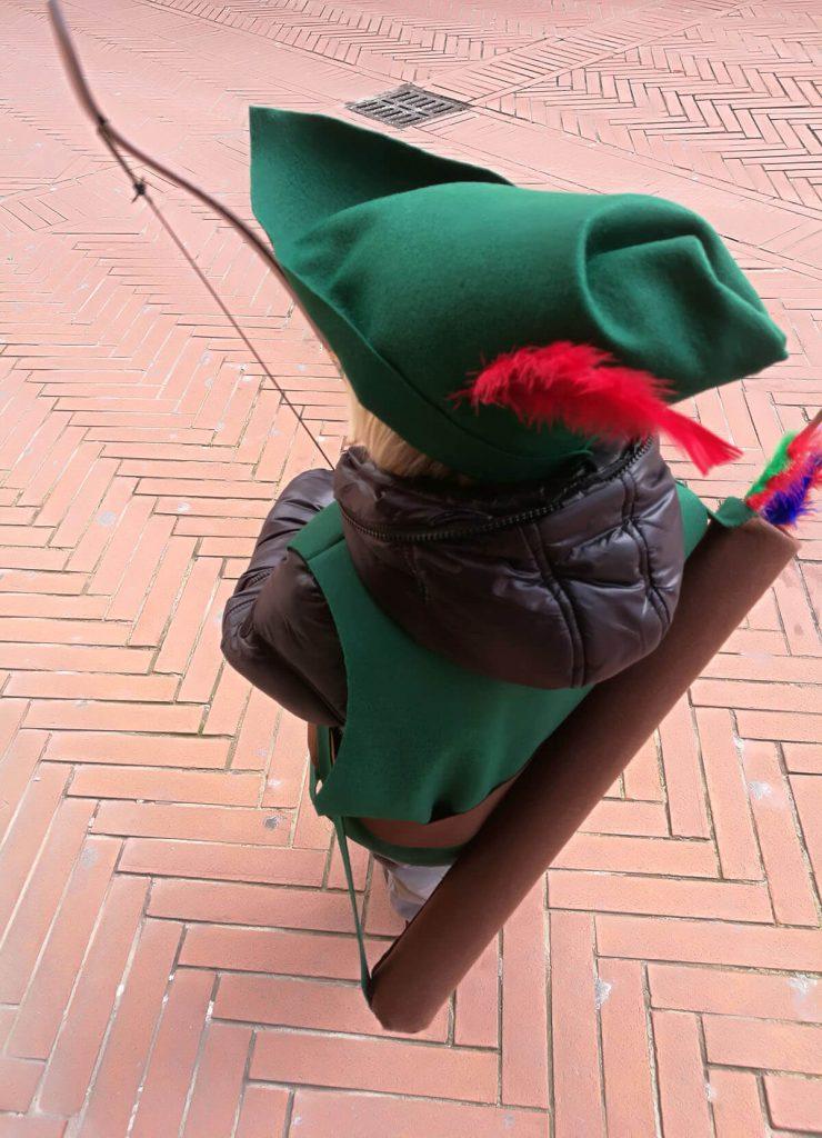 Vestito di Carnevale fatto a mano
