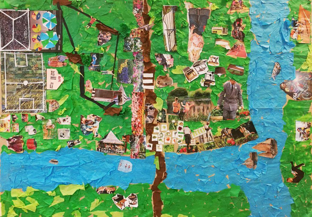 Elisa Caruso - contratto di fiume - mappa di Gulliver - laboratori - bambini - partecipazione - osiamo