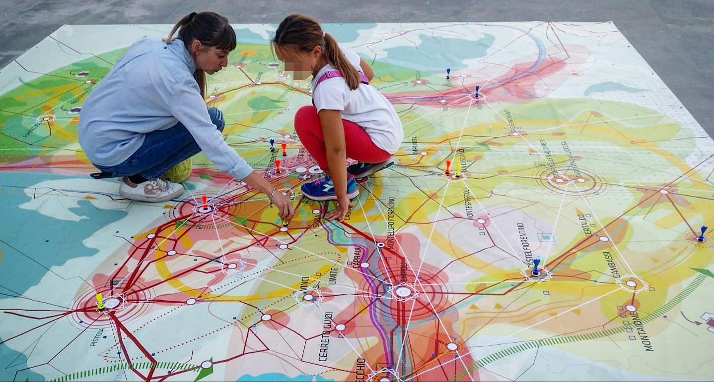 Bright - research - Elisa Caruso - phd - piano strategico - città metropolitana - notte ricercatori - Firenze - partecipazione